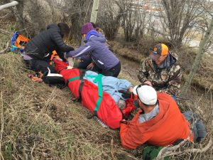 Wilderness Medicine Course for Tip Top Search and Rescue